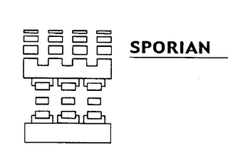 mark for SPORIAN, trademark #78068718