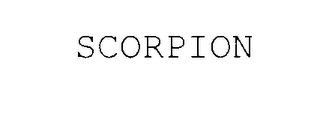 mark for SCORPION, trademark #78069055