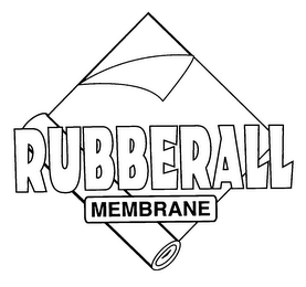 mark for RUBBERALL MEMBRANE, trademark #78069408