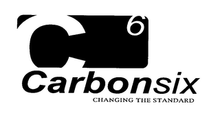 mark for C6 CARBONSIX CHANGING THE STANDARD, trademark #78080641