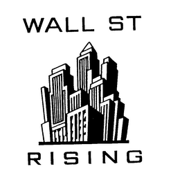 mark for WALL ST RISING, trademark #78088737