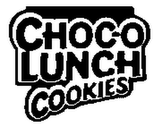 mark for CHOC-O LUNCH COOKIES, trademark #78093828