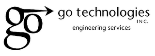 mark for GO GO TECHNOLOGIES INC. ENGINEERING SERVICES, trademark #78100422