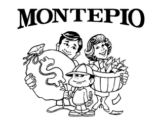 mark for MONTEPIO, trademark #78102385