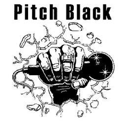 mark for PITCH BLACK, trademark #78107839