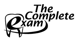 mark for THE COMPLETE EXAM, trademark #78113441