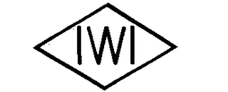 mark for IWI, trademark #78120126