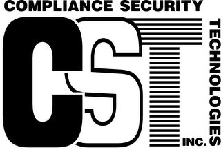 mark for CST COMPLIANCE SECURITY TECHNOLOGIES INC., trademark #78130449