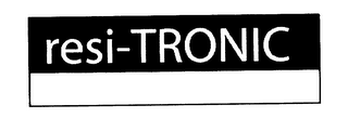 mark for RESI-TRONIC, trademark #78132690