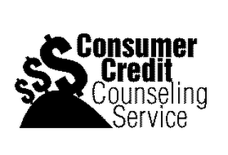 mark for CONSUMER CREDIT COUNSELING SERVICE, trademark #78134352