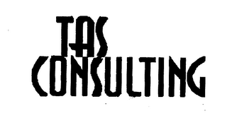 mark for TAS CONSULTING, trademark #78135161