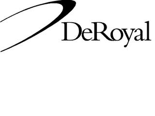 mark for DEROYAL, trademark #78141187