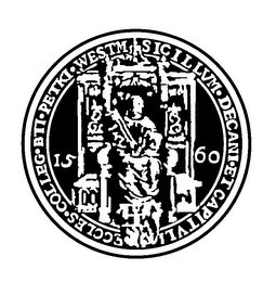 mark for 1560 SICILLVM DECANI ET CAPITVLI ECCLES COLLEG BTI PETKI WESTM, trademark #78142689