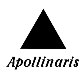 mark for APOLLINARIS, trademark #78144457