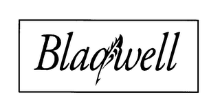 mark for BLAQWELL, trademark #78147832