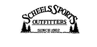 mark for SCHEELS SPORTS OUTFITTERS SINCE 1902, trademark #78150978