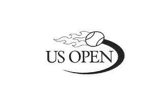 mark for US OPEN, trademark #78154966