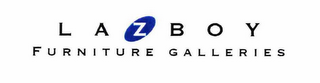 mark for L A Z B O Y FURNITURE GALLERIES, trademark #78155369