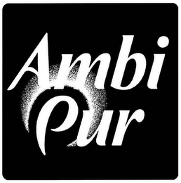 mark for AMBI PUR, trademark #78158780