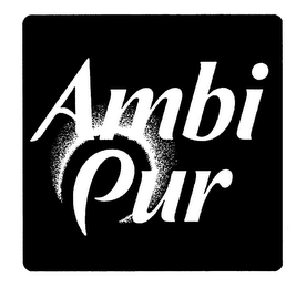 mark for AMBI PUR, trademark #78158790