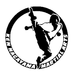 mark for KEN NAGAYAMA MARTIAL ARTS, trademark #78162700