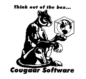 mark for THINK OUT OF THE BOX... COUGAAR SOFTWARE, trademark #78172597