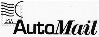 mark for USA AUTOMAIL, trademark #78177642