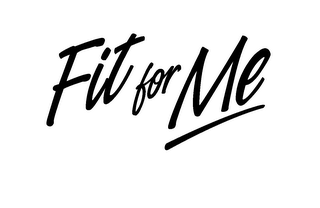 mark for FIT FOR ME, trademark #78178581