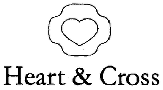 mark for HEART & CROSS, trademark #78184698