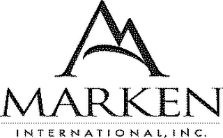 mark for MARKEN INTERNATIONAL, INC., trademark #78186963