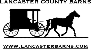 mark for LANCASTER COUNTY BARNS WWW.LANCASTERBARNS.COM, trademark #78192598