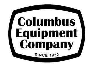mark for COLUMBUS EQUIPMENT COMPANY SINCE 1952, trademark #78194175