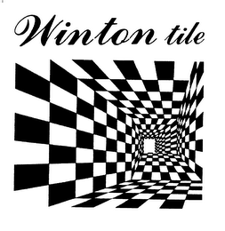 mark for WINTON TILE, trademark #78198626