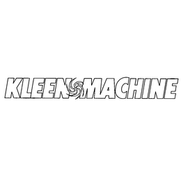 mark for KLEEN MACHINE, trademark #78203195