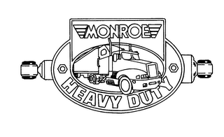 mark for MONROE HEAVY DUTY, trademark #78204373