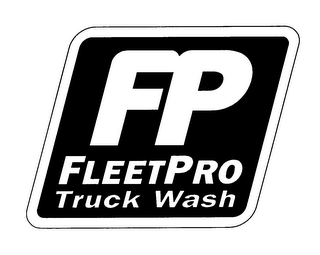 mark for FP FLEETPRO TRUCK WASH, trademark #78209423