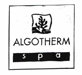 mark for ALGOTHERM SPA, trademark #78210238