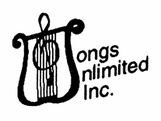 mark for SONGS UNLIMITED INC., trademark #78215318