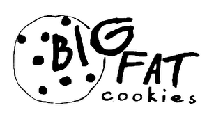 mark for BIG FAT COOKIES, trademark #78216975