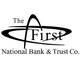 mark for THE FIRST NATIONAL BANK & TRUST CO., trademark #78216990