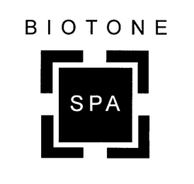 mark for BIOTONE SPA, trademark #78219476