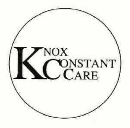 mark for KCC KNOX CONSTANT CARE, trademark #78219531