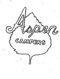 mark for ASPEN CAMPERS, trademark #78222038