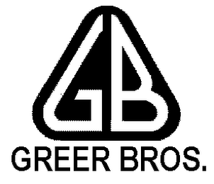 mark for GB GREER BROS., trademark #78222413