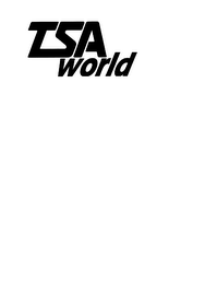 mark for TSA WORLD, trademark #78236299