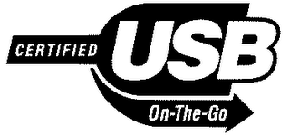 mark for CERTIFIED USB ON-THE-GO, trademark #78242339