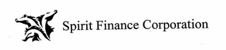 mark for SPIRIT FINANCE CORPORATION, trademark #78247981
