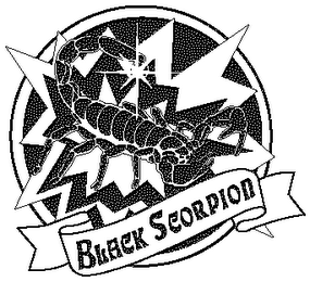 mark for BLACK SCORPION, trademark #78256743