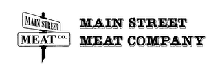 mark for MAIN STREET MEAT CO. MAIN STREET MEAT COMPANY, trademark #78260563