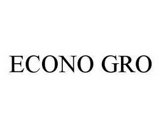 mark for ECONO GRO, trademark #78272322